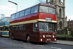 03-72 HWW773J Felix Motors Daimler Fleetline  at Christ Church. (dubdee) Tags: daimlerfleetline roe christchurch daimlercrg6lx hww773j sypte felix daimler 1325 doncaster bus felixmotors