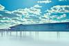 Sky (-Simulacrum-) Tags: nikon nikond5300 sigma sigmalens water lake nikonphotography creative clouds blue bluesky foggy sunny newjersey park 170500mmf28