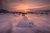 Sunset at Skaland. (Reidar Trekkvold) Tags: senja skaland xf1024ois fujifilm ice landscape natur nature nordnorge norway sea seascape seaside sj㸠skies snow sn㸠sun sunset troms vinter winter
