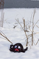 - Максвелл, ты куда меня занёс?! (lisrezoly) Tags: dontstarve dontstarvespider winter game toy imlost
