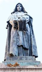 The guardian of Campo de Fiori (Geert Van Keymolen) Tags: campodefiori city d5200 italia italië italy nikon nikond5200 piazza roma rome cityview outdoor plein square stad standbeeld standbeelden statue statues streetview lazio it