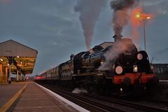 The Maunsell At Dusk (Jordon Skinner) Tags: swanage railway u boat 31806 maunsell southern steam wareham west coast railways mainline test
