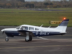 G-BHEV Piper Cherokee Arrow II Private (Aircaft @ Gloucestershire Airport By James) Tags: gloucestershire airport gbhev piper cherokee arrow ii private egbj james lloyds