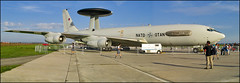 Boeing E-3 Sentry AWACS (Pavel Vanka) Tags: boeing e3 sentry awacs nato ciaf2006 aew ciaf czechinternationalairfest lktb brnoturany brno czech czechrepublic airplane plane aircraft airshow spotting spot spotter jet