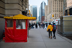 Ketchup and Mustard (cookedphotos) Tags: 2018inpictures toronto ontario canada canon 5dmarkiv streetphotography hotdog red yellow ketchup mustard jacket matching color colour 365project p3652018