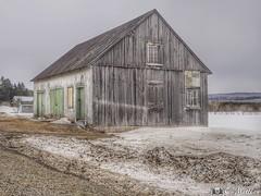 180403-30 Grange (clamato39) Tags: grange barn bellechasse provincedequébec québec canada rural ciel sky neige snow