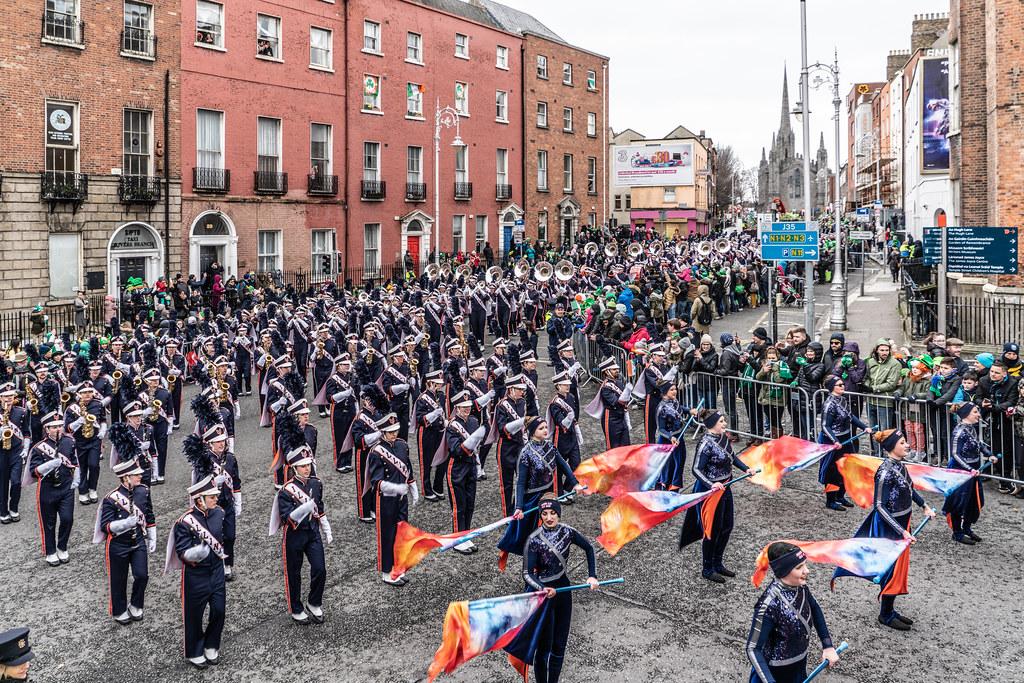 DUBLIN SAINT PATRICKS PARADE 2018 [THE MARCHING ILLINI]-137397