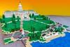 01 - Finished Union Square (wrtyler) Tags: lego architecture unionsquare nationalmall washingtondc micro microscale brickslopes