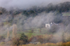 The Manor (www.neilporterphotography.com) Tags: manor house estate mist fogdartmoor national park parke bovey tracey devon