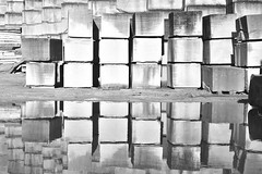 FRAGMENTS 2018 (misaato) Tags: noiretblanc misaatophotography hiveminer flickrose flickriver bw blackandwhite blackartwhite nb photo photographie shot monochrome art architecture quarry quarries carrière fineart nikon ngc nationalgéographic france fragments