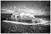 Dysart Harbour (ianrwmccracken) Tags: wind d750 nikon storm pier water mono dysart breakwater sea fife scotland ship shore tide wave riverforth power wall high harbour nikkor2470mmf28