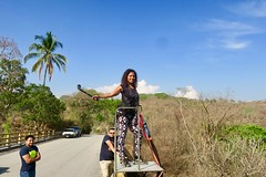 "My 4th Bungee jumping. This time  from the bridge at Las Cañas River in Tonacatepeque.  El Salvador  March 2018 #itravelanddance • <a style=""font-size:0.8em;"" href=""http://www.flickr.com/photos/147943715@N05/40878098052/"" target=""_blank"">View on Flickr</a>"