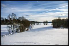Vivitar 24 mm View (Krogen) Tags: norge norway norwegen akershus romerike ullensaker mogreina krogen sonya6000 metabones speedbooster vivitar24mm vinter winter