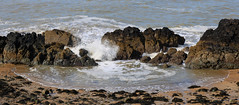 Llanddwyn Island - Practice Day/Part 2 (mandysp8) Tags: wales anglesey ocean sea rocks waves pebbles seaweed almostspring uk beach coast sand