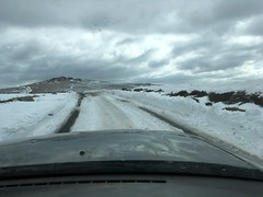 Dartmoor weather still a bit severe on the high moors