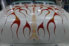 1954 Chevrolet Hardtop (bballchico) Tags: 1954 chevrolet hardtop radicalhardtop custom flames latestflame gregwhite portlandroadstershow carshow pinstripe