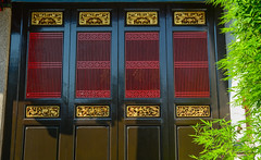 Oriental wooden door of Chinese temple (phuong.sg@gmail.com) Tags: ancient antique architecture art asia asian background carving china chinese classic culture decor decoration design door east frame furniture gate grid handicraft historical house japan japanese line ming old orient oriental ornamental pattern peking qing room style temple texture tradition traditional vintage wood wooden