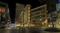 Bruine Heer (Admirant) (Lefers.) Tags: admirant bruine heer emmasingel eindhoven netherlands nederland architecture hdr fuji xt1 fujinon 1024mm nightphotography cityscape plein