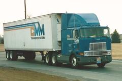International 9700: CMM Trans (PAcarhauler) Tags: semi truck tractor trailer ih kw