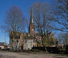 Berkel-Enschot - Caeciliakerk (Grotevriendelijkereus) Tags: netherlands nederland holland noord brabant architecture architectuur gebouw building church kerk parsotie rectory neogotiek neogotisch gothic revival berkelenschot berkel enschot