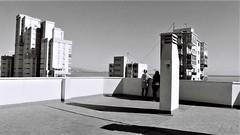 geometría (pepe amestoy) Tags: streetphotography blackandwhite people elcampello spain nikon fm2 nikkor 2824 kodak tmax 100 analog film