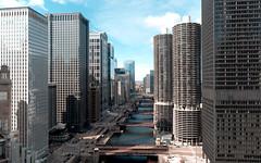 Buildings and Bridges (uncledougie) Tags: chicago chicagoriver buildings architecture water bridges city urban