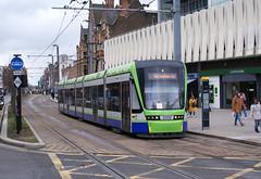 glc - croydon tramlink 2555 east croydon 29-3-18 JL (johnmightycat1) Tags: tram croydon london