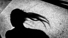 concrete negative (fe2cruz) Tags: negativespace crazytuesdaytheme 7dwf concrete shadow silhouette selfportrait monochrome blackandwhite white blackwhite bw black conceptualimage
