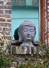 Orbec - Bouddha (Philippe Aubry) Tags: normandie calvados paysdauge valléedelorbiquet orbec statue buste bouddha visage