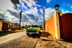 Varadero, cuba (corineouellet) Tags: travel landscape canonphoto canon wideangle varadero cuba cityscape city classiccar oldcars car
