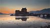 Eilean Donan Castle Sunset (Phil Durkin) Tags: eilean donan castle sunset lock
