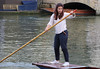 Concentration! (Raphooey) Tags: gb uk east anglia cambridgeshire cambridge university city canon eos 80d boat boats water river backs punt punting punter punters girl concentrate concentration