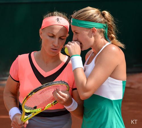 Svetlana Kuznetsova - Svetlana Kuznetsova & Kristina Mladenovic