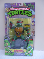 Teenage Mutant Ninja Turtles Raphael Action Figure Carded Classic Collection (beetle2001cybergreen) Tags: teenage mutant ninja turtles michelangelo action figure carded classic collection