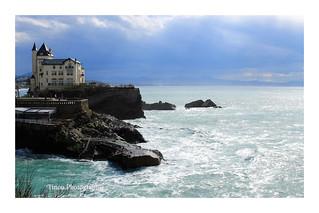 Biarritz; La villa Belza