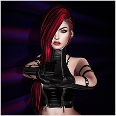 Hands Up ❣❣❣ (Lizzie Rayner) Tags: cyberpunk ay