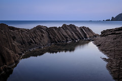 Punta Baja (Antonio_Luis) Tags: parque natural cabodegata almeria andalucia roca agua mar mediterraneo ocaso atardecer cabo naturaleza paisaje landscape