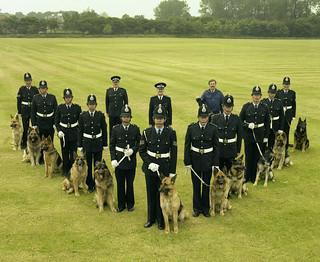 Dog Display Team of 1983