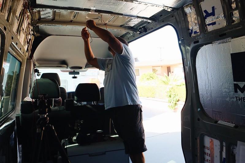 Sprinter 4x4 van build day 5 day50411218