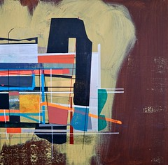 Jim Harris: He that shall live this day, and see old age, Will yearly on the vigil feast his neighbours. (Jim Harris: Artist.) Tags: art arte painting peinture modern maalaus malerei málverk målning abstract abstractart abstrakt