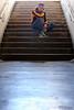 Alan (6) - Gap - Avril 2018 (Le Rêv'elle ateur) Tags: canon eos 6d eos6d canon70200f4 paca hautesalpes gap modèle portrait homme man alan shooting extérieur outside mur wall tunnel marche stair escalier staircase tag graffiti