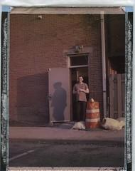 uppercup003 (Dear Deer Fine Art) Tags: film expired largeformat 4x5 instant fuji