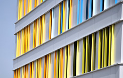 Against Cancer (YIP2) Tags: oncology diagonal yellow white window windows abstract minimal minimalism simple less line linea detail facade pattern design architecture building geometry repetition cancercenter hospital utrecht princessmaximacenter