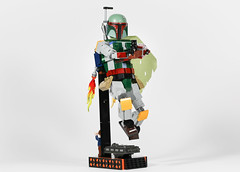 Boba fett (joffre0714) Tags: boba fett lego moc star wars