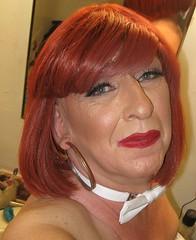 April 2018 (Patrice Bailey) Tags: redhead redhair earrings makeup ts tv tg tranny tgirl tgurl gurl transvestite transgender cd crossdress crossdresser crossdressing