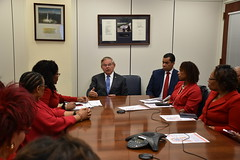 Meeting with NJ Delta Sigma Theta