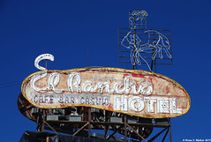 El Rancho (walkerross42) Tags: ghostsign sign elrancho hotel abandoned wells nevada cowboy cafe bar casino