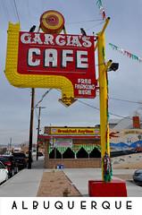 An Evan Post Card: Albuquerque, N.M. (Evan Lowenstein) Tags: garcia albuquerque oldtown newmexico landofenchantment restaurant cafe