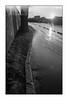 Paris (Punkrocker*) Tags: nikon f2 sb nikkor 35mm 352 film ilford pan 400 nb bwfp river flood paris seine banks city france