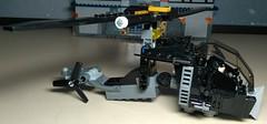 Jodan-Copter - side (Heavy Metal Rapping Machine) Tags: moc mod dc lego batman batmanninja